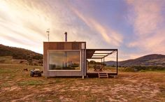The Tintaldra Rural Cabin Blends in Seamlessly With its Rugged Surroundings #architecture trendhunter.com