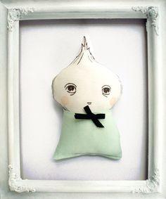 Lil Onionhead Doll by The Black Apple~ Emily Winfield Martin