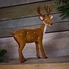Wilko Christmas Ornament Deer Festive Forest