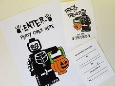 Check out this item in my Etsy shop https://www.etsy.com/uk/listing/553917911/halloween-party-packs-invites-print