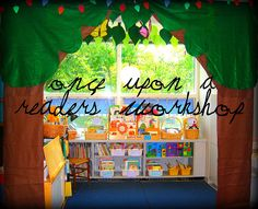 CLASSROOM LIBRARY-love this!