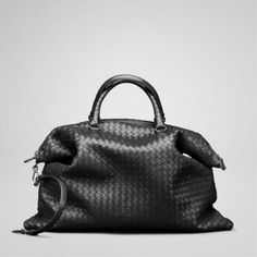 Bottega Veneta bags and Bottega Veneta handbags Bottega Veneta Nero Intrecciato Nappa Convertible Bag $431
