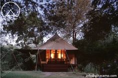 High Peak Camping Tent - Lodge Tents http://www.glamping-tent.com/portfolio_page/eco-tent-in-african-style/