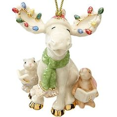 Lenox Christmas Annual Moose Ornament Dated 2015 Merry Moose Choir 849611 NIB Lenox Christmas Ornaments, Christmas China, Christmas Moose, Woodland Christmas, Hallmark Ornaments, Christmas Decorations, Christmas Lights, Merry Christmas Everybody, Christmas Dinnerware