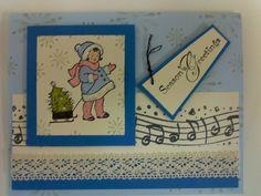 greeting card kids xmas