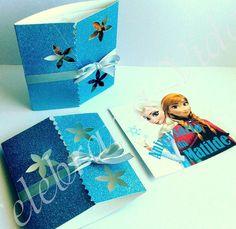 Convite de Aniversário * Frozen