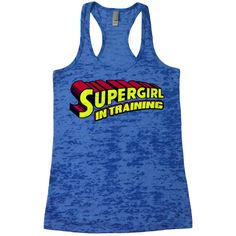 Superman SuperGirl Burnout Tank Top. Funny Womens Superhero Supergirl Workout Tanks. Ladies Gym Tank Tops. Avengers Running Work Out Shirt. by CuteBuffy on Etsy https://www.etsy.com/listing/232042733/superman-supergirl-burnout-tank-top