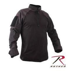 0c5da7ec80297 Rothco 1 4 Zip Military Fire Retardant NYCO Combat Shirt