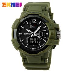 SKMEI Sports Watch Men Outdoor LED Digital Quartz Multifunction Waterproof Men's Military Wristwatches Relogio reloj hombre