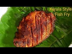 MEEN POLLICHATHU | Karimeen pollichathu Recipe | Kerala Style Fish Fry in banana leaf | Fish Roast - YouTube