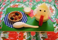 AW! Such cute food! #cute #food