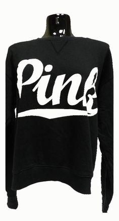VS PINK Black Sweatshirt