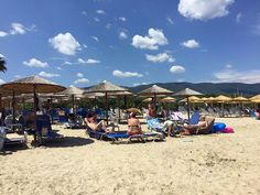 Water – Beach Activities !! #Asprovalta Nea #Vrasna #Greece #beach  http://asprovalta-vrasna.gr