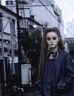 "devon-aoki:  ""One Day in Tokyo"" Devon Aoki by David Mushegain for Vogue Nippon, February 2008"