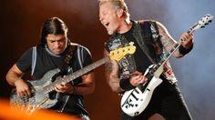 Metallica live bei Rock in Rio, September 2015.