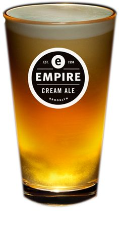 Empire Brewing Company - headquartered in Syracuse, brewed in Brooklyn, served in restaurants everywhere!