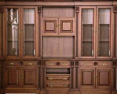 Tv Unit Furniture, Wood Furniture, Kitchen Shelves, Kitchen Decor, Antique China Cabinets, Chair Design Wooden, Classic Furniture, Woodworking, House