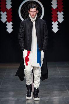 D.GNAK - Fall 2015 Menswear - Look 1 of 29
