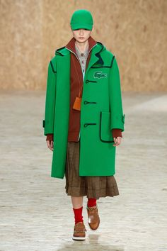 Lacoste Fall 2020 Ready-to-Wear Collection - Vogue Vogue Fashion, Fashion Week, Daily Fashion, Fashion Brand, Girl Fashion, Fashion Outfits, Fashion Hub, Denim Fashion, Street Fashion