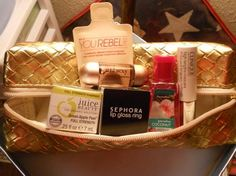 Smashbox makeup bag filled with goodies FREE SHIPPING
