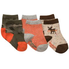 3-Pack Socks | Baby Boy New Arrivals OshKosh B'Gosh