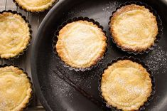 A homemade milk tart is always a winner. Try this easy recipe for mini treats