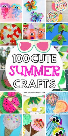 keep your kiddos engaged and busy this summer with these super fun boredom busting summer crafts for kids! Great for kids of all ages these crafts are guaranteed to provide hours of fun. Educational Crafts For Kids Summer Activities For Toddlers, Summer Crafts For Kids, Crafts For Kids To Make, Summer Kids, Spring Crafts, Kids Crafts, Craft Projects, Easy Crafts, Summer Crafts For Preschoolers