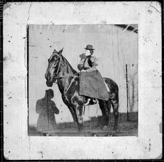 One of our eight founders, Lizzie Watkins - an accomplished writer and horsewoman!