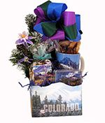 Rocky Mountain Welcome with Scenic Mug.  Great gift for family and guests from out of town!