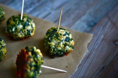 Spinach and Cheese Appetizers
