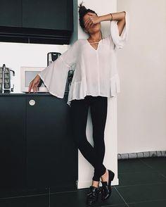 Outfit completo y prefecto. ¿No les encantan los zapatos? Para visitar a una amiga y sin rumbo previsto. Te salva de cualquier cosa de dia.