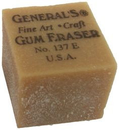I remember these erasers being crumbly.