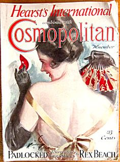 $75 Harrison Fisher Cover Original Cosmo Magazine