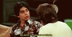 """Fez's perfect one-liner. 23 Of The Best Burns From """"That Show"""" Fez That 70s Show, That 70s Show Memes, Thats 70 Show, Kelso That 70s Show, 70s Quotes, Tv Show Quotes, Movie Quotes, Good Burns, One Liner"""