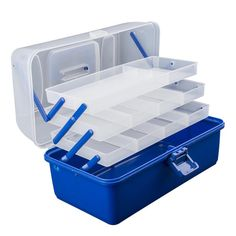 Assorted Fishing Tackle Box Storage Case Equipment Silicone Waterproof  Flies