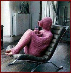 oh ya know, for those days you want to look like a Teletubbie.