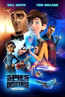 Spies In Disguise Will Smith Espias E Karen Gillan