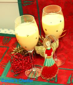 Carole's Chatter: A Christmas Favourite from Downunder: Mango Cocktails