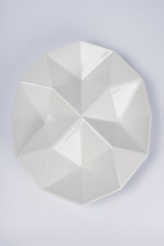 Finnish Dish Origami by Kaj Franck for Arabia Of Finland, White Ceramic, 1960s   From a unique collection of antique and modern bowls and baskets at https://www.1stdibs.com/furniture/decorative-objects/bowls-baskets/