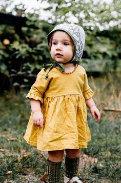 Handmade Olive Lace Bonnet | willowandhazel on Etsy