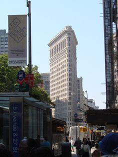 Flat Iron Building in NYC