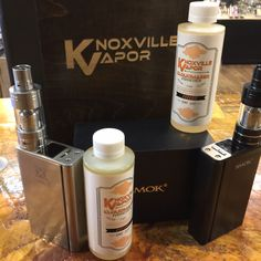 """COOL COMBOS!  Looking for great deals this Holiday Season?  Check out the XcubeII Kit with TFV4 Tank! All the power and flavor you could ever want or need! Available is Stainless Steel or Black for only $125.00! Requires dual 18650 batteries (sold separately).  Pair it with our newest flavor, """"Colors"""", from the CLOUDMAKER COLLECTION, made with love from our friends at 28 Days Vape! High VG (80/20) with all the flavor of the rainbow added! 135mL for $25.00! Available in 0, 1.5, 3 & 6mg."""