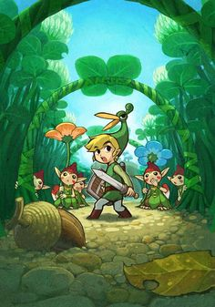 The Legend of Zelda: The Minish Cap Screen on http://www.majestichorn.com/2012/03/the-legend-of-zelda-the-minish-cap-screen/