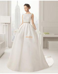 Délka katedrála Jiskra a záře Elegantní & luxusní Svatební šaty 2015