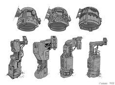 Halo 4: DLC Generator Production Art by SBigham on deviantART