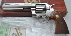 """1976 Colt Python 6"""" nickelSave those thumbs & bucks w/ free shipping on this magloader I purchased mine http://www.amazon.com/shops/raeind  No more leaving the last round out because it is too hard to get in. And you will load them faster and easier, to maximize your shooting enjoyment.  loader does it all easily, painlessly, and perfectly reliably"""