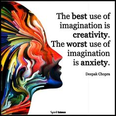 *See more Quotes* https://www.pinterest.com/LorenzDuremdes/quotes/ @LorenzDuremdes #Imagination #Creativity #Anxiety