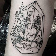 terrarium tattoo by shan_mac