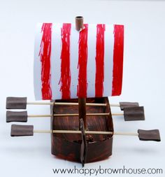 Viking Ship Craft for Kids