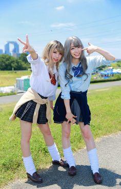 School Uniform Fashion, School Girl Outfit, School Uniform Girls, Student Fashion, Girls School, Cute Asian Girls, Cute Girls, Chicas Dpz, Cute Kawaii Girl